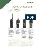 Radio Trunking R3!4!2003K XTS2500 1
