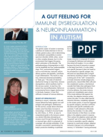 A Gut Feeling for Immune Dysregulation & Neuroinflammation in Autism by Aristo Vojdani, PhD, MSc, MT and Jama Lambert