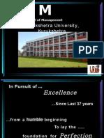 University School of Management