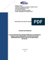 Projeto de Pesquisa Maj Pm Figueiredo Cspbm-iesp