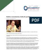 18-06-2014 Info Transportes.com.mx - Radios Comunitarias, botín de partido. .