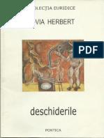 DESCHIDERILE - OVIA HERBERT