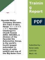 Hyundai Motor Company New