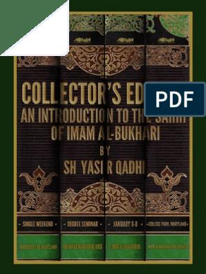 Ṣaḥīḥ Al-Bukhāri (Collector's Edition) | Sahabah | Hadith