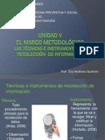 Tecnicas e Instrumentos