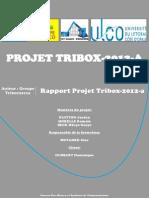 Tribox 2012 a Rapport Final
