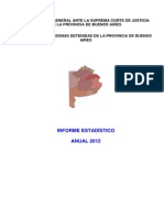 AAVV - Informe RUD 2012. Personas Privadas de Libertad en PBA