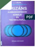 J.J. Orlova - Brizáns Robbanóanyagok Kémiája És Technológiája (1986)