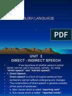 119597640 Direct Indirect Speech Ppt