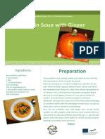 pumpkin soup with ginger final