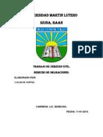 Resumen de Derecho de Obligaciones