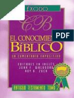 El Conocimiento Bíblico - Éxodo