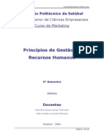 6935583 Sebenta de Principios de Gestao de Recursos Humanos[1]