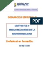 Contextos y Mediatizaciones de La Responsabilidad Desarrollo Espiritual II