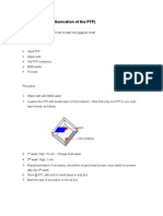 Sonication of Used PTP