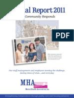 Mental Health Association Annual Report 2011