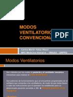 Modos Ventilatorios Convencionales