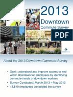 Downtown District Commute Survey