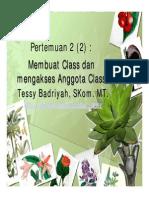 3Contoh Program Dengan Class