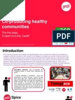 Co-producing Healthy Communities Report