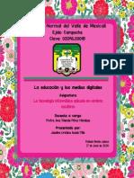 La Educación y Los Medios Digitales