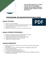 1. Programa de Neuropsicofisiologia