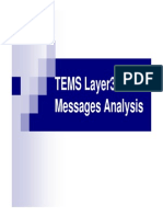 TEMS Layer3 Messages Analysis V2