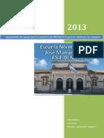 Documento de Apoyo Para Concursos 2013