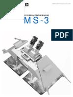 Estereoscopio de Espejos MS-3 Estertopcon