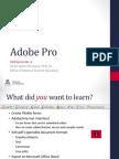 SOS Guide No. 06 Adobe Pro Basics