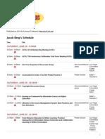 My ALA Schedule