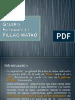Galería Filtrante de PILLAO MATAO