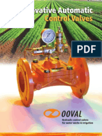 Hydraulic Pressure Control Valves - OOVAL - Product Catalog