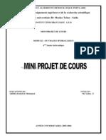 Mini Proget.ouvrage Hydraulique