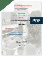 Informe Lab 6 Quimica