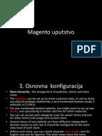Magento uputstvo