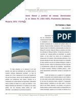 Reseña a Reformismo Liberal y Política de Masas, De Diego Mauro (Francisco J Reyes)