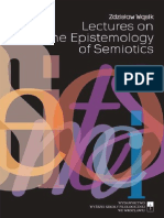 Zdzislaw Wasik 2014 Lectures on the Epistemology of Semiotics. PSHE Publishing-libre