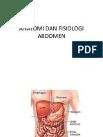 Anatomi Dan Fisiologi Abdomen