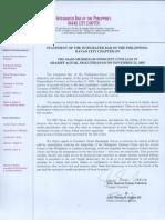 Ibp Statement-mass Murder of Innocent Civilians
