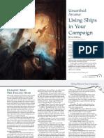 D&D Using Ships