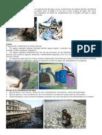 Contaminación Del Agua, Aire y Suelo