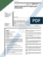 NBR 11822_91 (EB-2121) - CANC - Registro Broca de PVC Rígido, Para Ramal Predial - 4pag