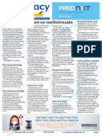 Pharmacy Daily for Thu 19 Jun 2014 - More on methotrexate, Labour, occupancy costs, Oz health