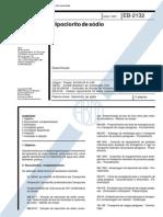 NBR 11833_91 (EB-2132) - Hipoclorito de Sódio - 3pag