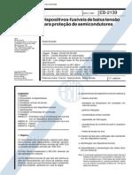 NBR 11839_91 (EB-2139) - CANC - Dispositivos-fusíveis de Baixa Tensão Para Proteção de Semicondutores - 21pag