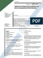 NBR 11855_91 (EB-2155) - Plataforma Isolante Para Trabalho Em Redes Energizadas de Distribuição - 5pag