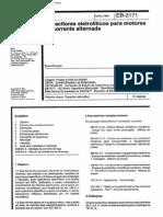 NBR 11871_91 (EB-2171) - CANC - Capacitores Eletrolíticos Para Motores de Corrente Alternada - 13pag