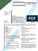 NBR 11876_92 (EB-2176) - Módulos Fotovoltaicos - 22pag