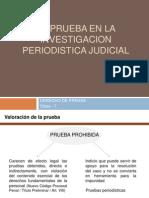 La Prueba en La Investigacion Periodistica Judicial